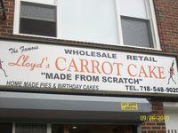 Lloydscarrotcake
